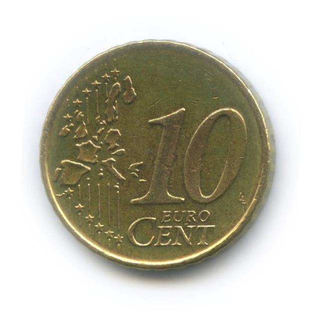 10 центов 2000 года (Нидерланды)