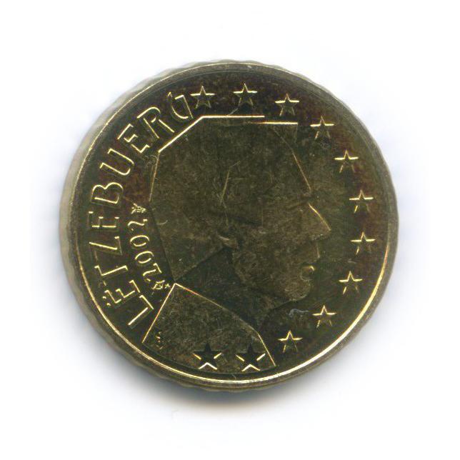 10 центов 2002 года (Люксембург)