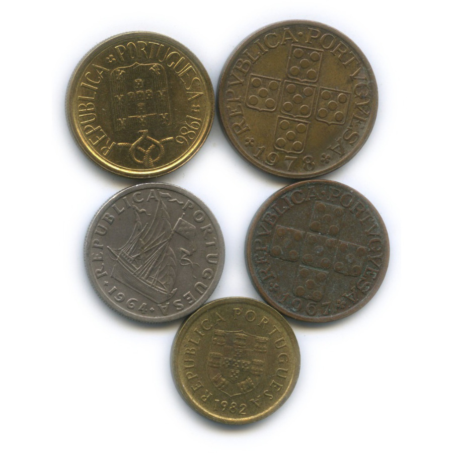 Набор монет (Португалия)