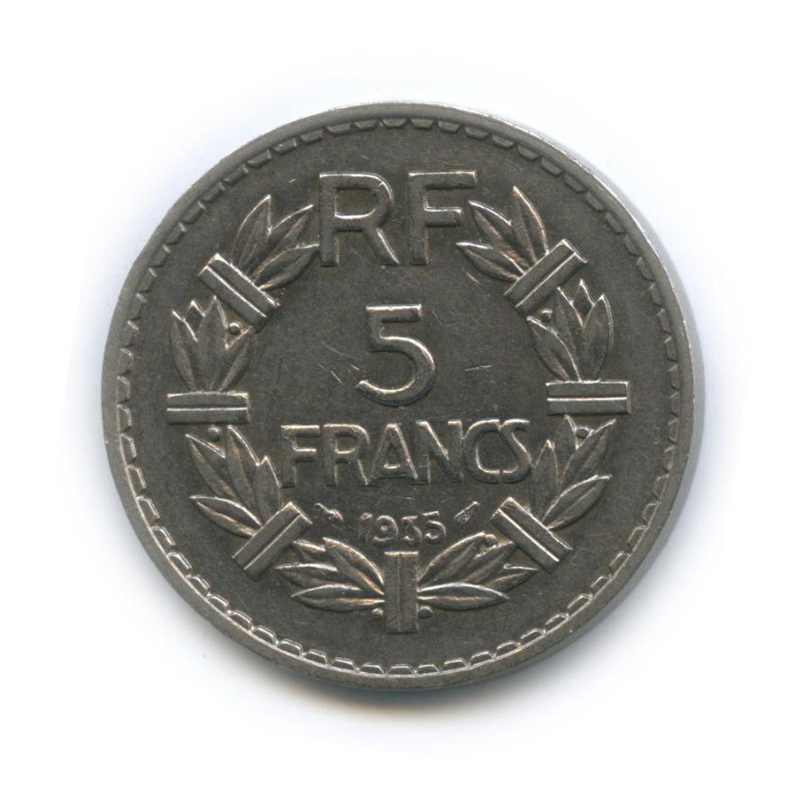 5 франков 1935 года (Франция)