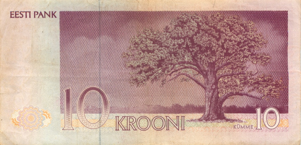 10 крон 1991 года (Эстония)