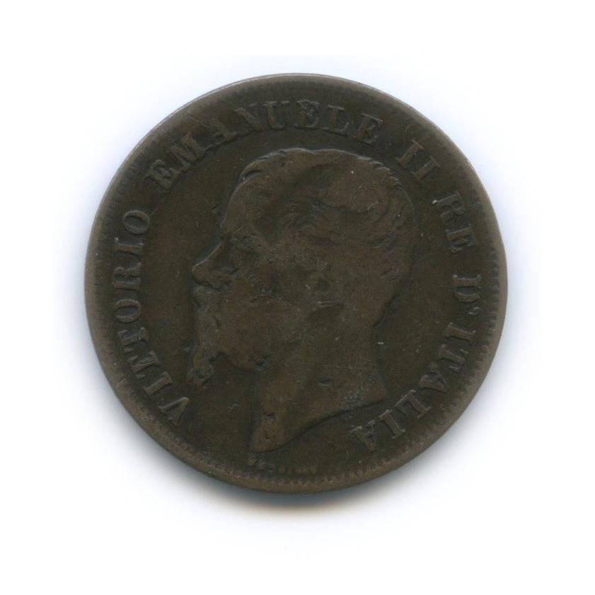 5 чентезимо - Виктор Эммануил II 1861 года (Италия)