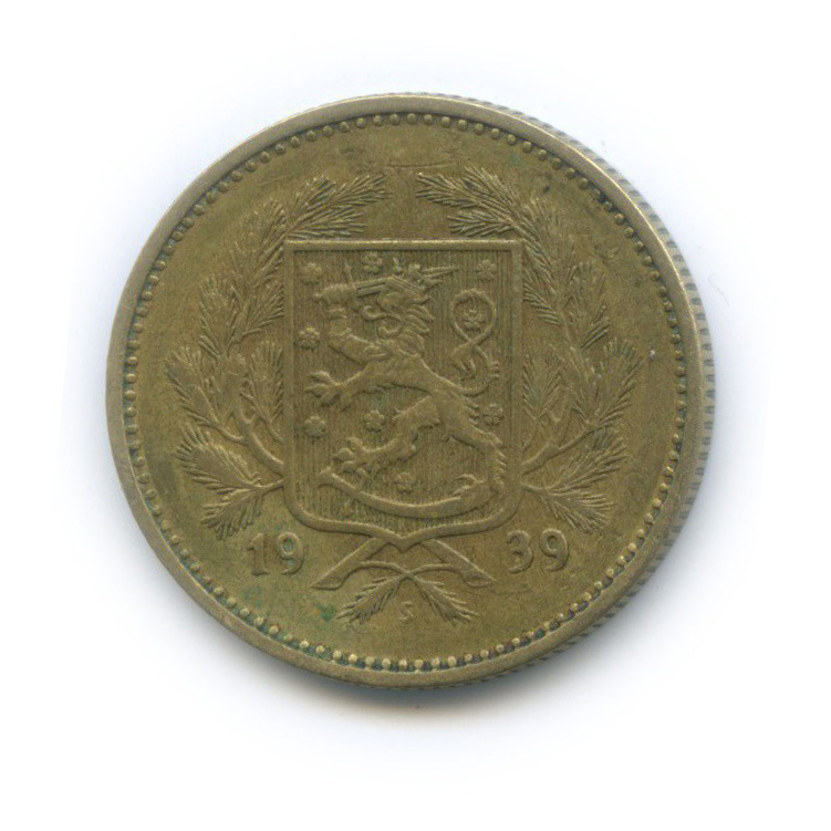 5 марок 1939 года (Финляндия)