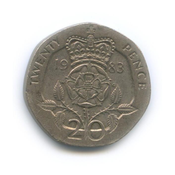 20 пенсов 1983 года (Великобритания)