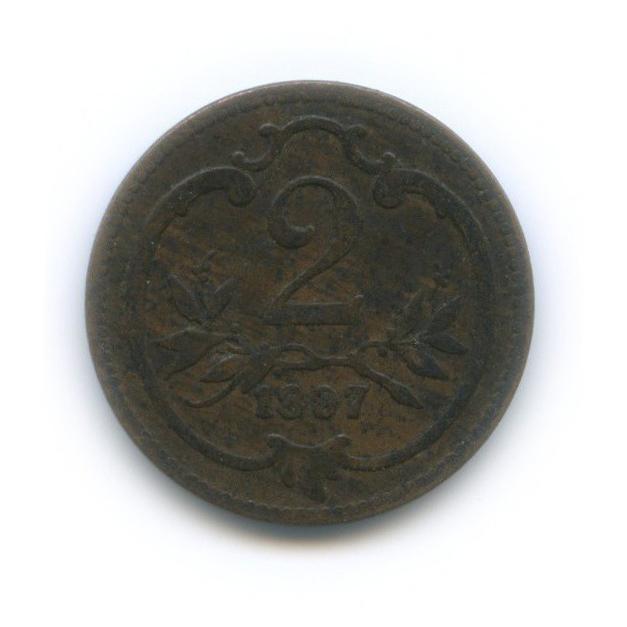 2 геллера 1907 года (Австрия)