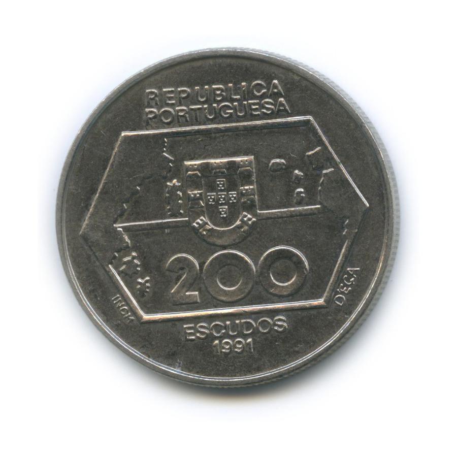 200 эскудо — Навигация назапад 1991 года (Португалия)