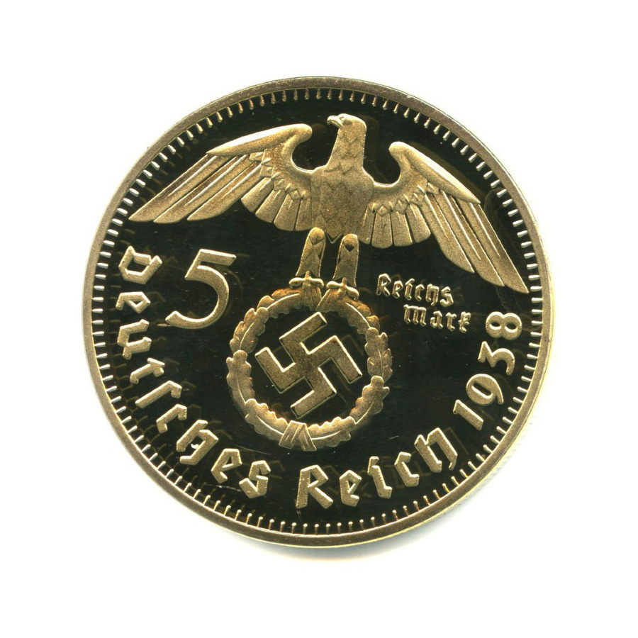 Жетон «5 рейхсмарок 1938, Германия»