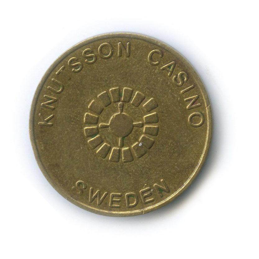 Жетон игровой «Knutsson Casino» (Швеция)