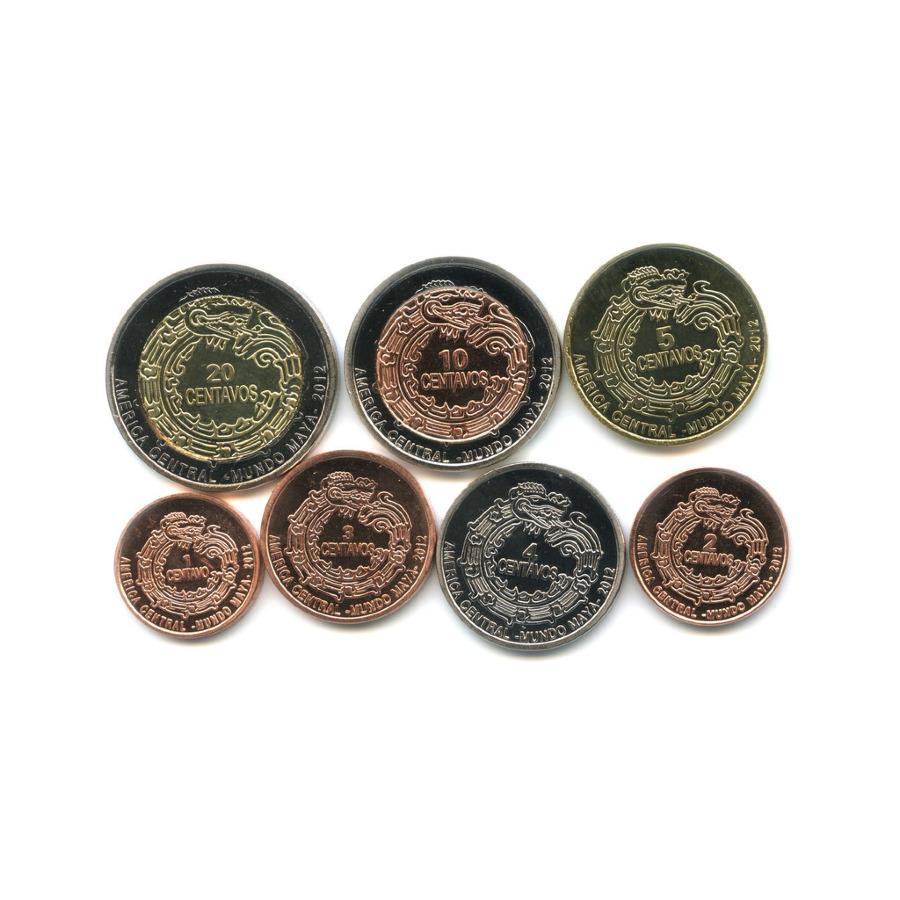 Набор монет - Мундо Майя, Центральная Америка 2012 года