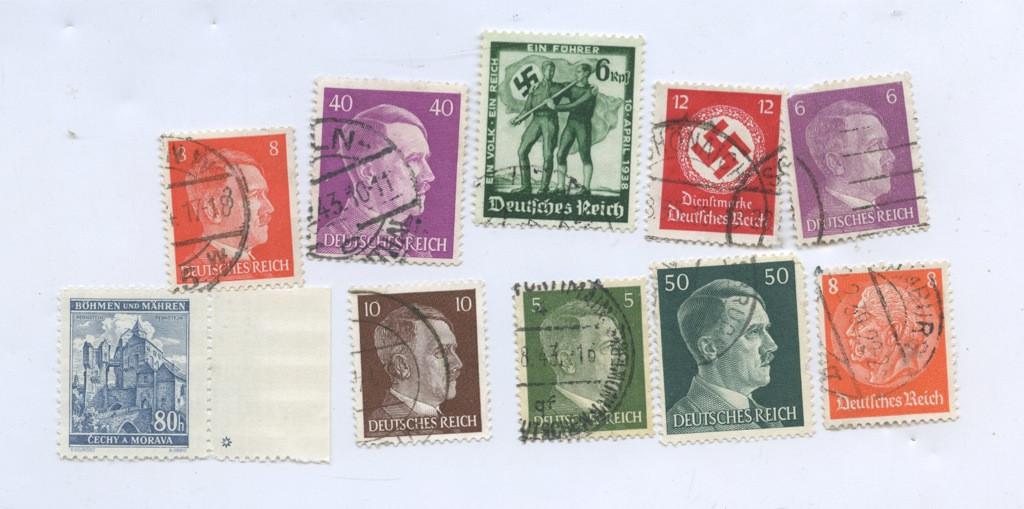 Набор почтовых марок (1933-1945 гг.) (Германия (Третий рейх))