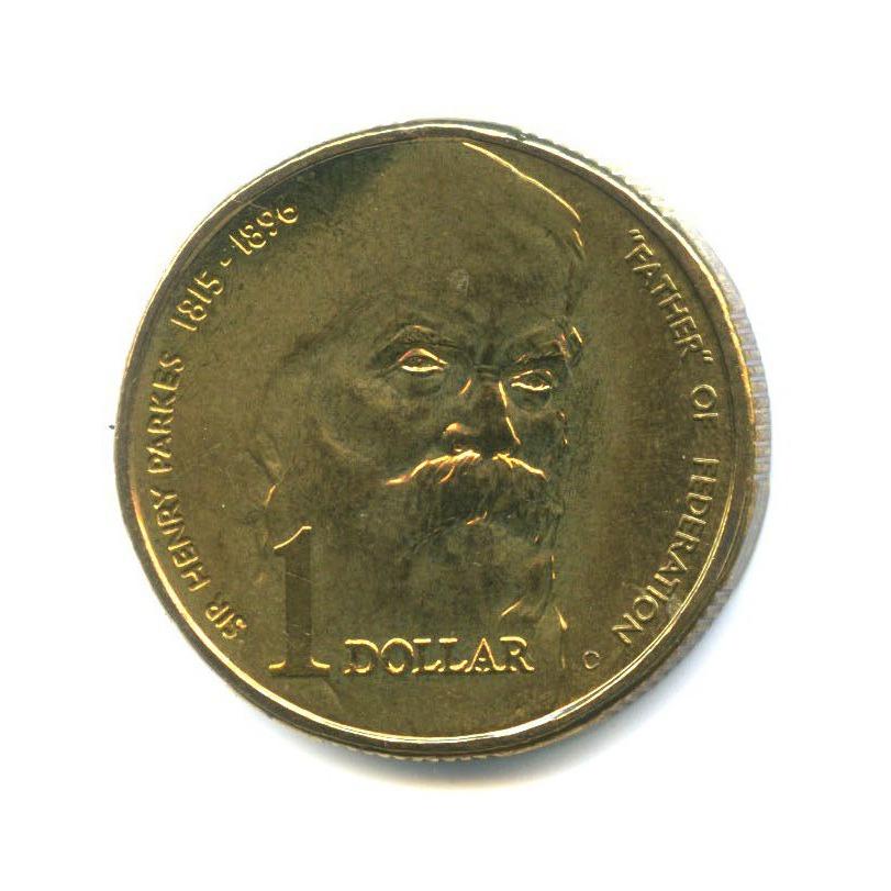 1 доллар — 100 лет содня смерти сэра Генри Паркса 1996 года (Австралия)