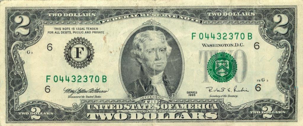 2 доллара 1995 года (США)
