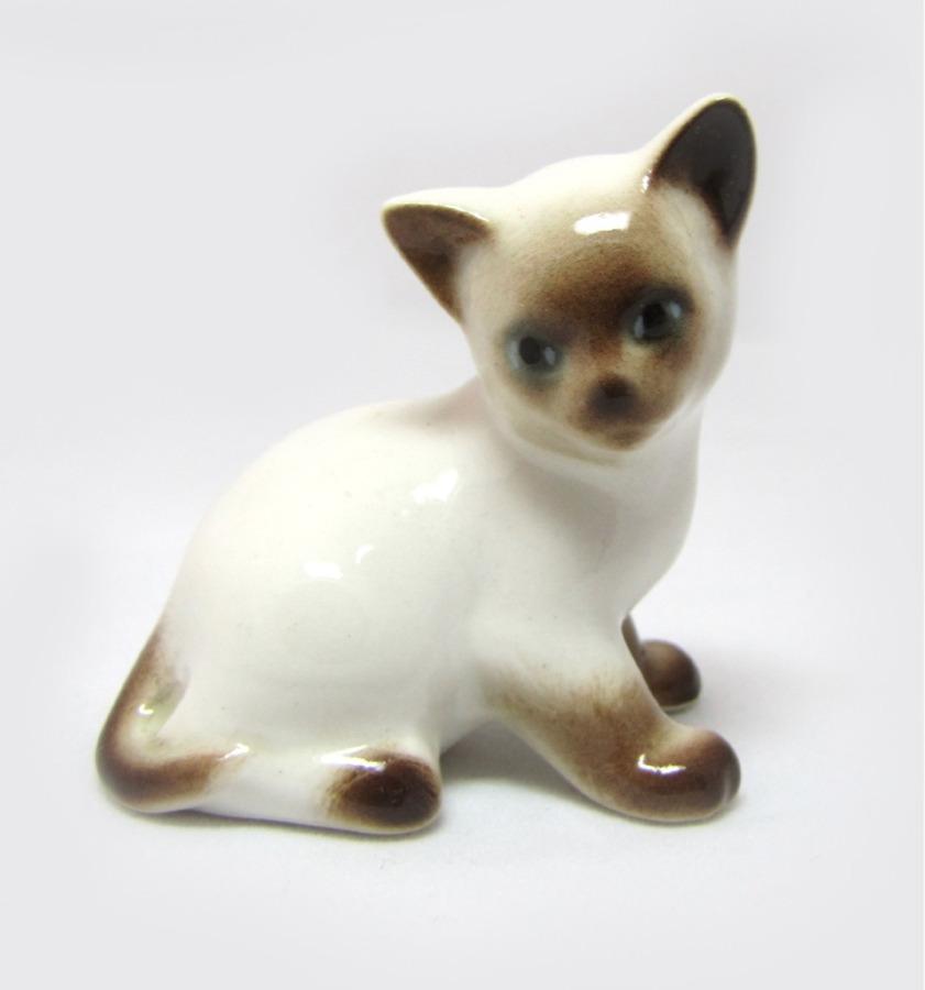 Фигурка ЛФЗ «Сиамский котенок» (высота 5,8 см) (Россия)