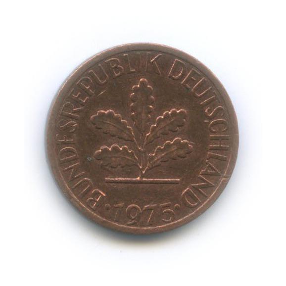 1 пфенниг 1975 года J (Германия)