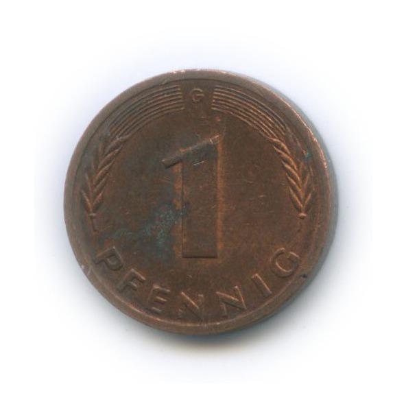 1 пфенниг 1985 года G (Германия)