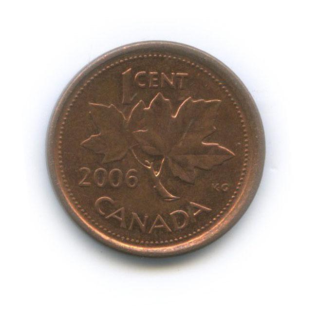 1 цент 2006 года P (Канада)
