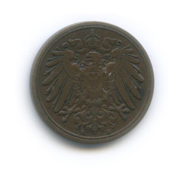 1 пфенниг 1906 года А (Германия)