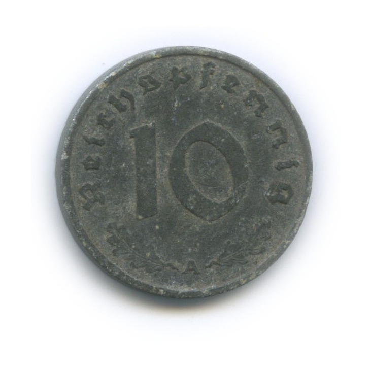 10 рейхспфеннигов 1942 года A (Германия (Третий рейх))