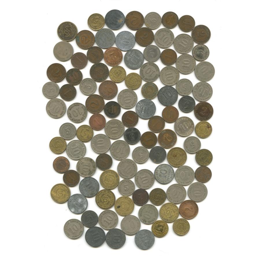 Набор монет, 100 шт (Германия)
