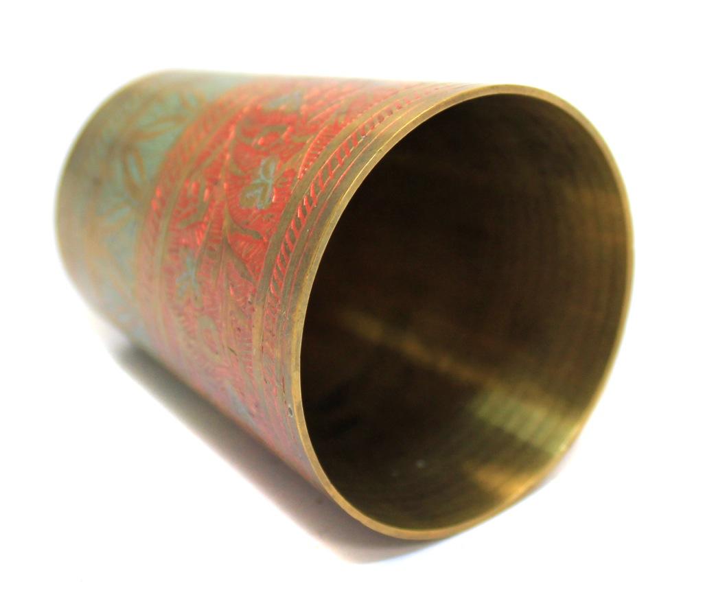 Стопка (латунь, рисунок, 5,5 см)