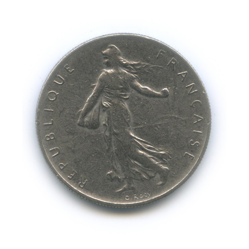 1 франк 1960 года (Франция)