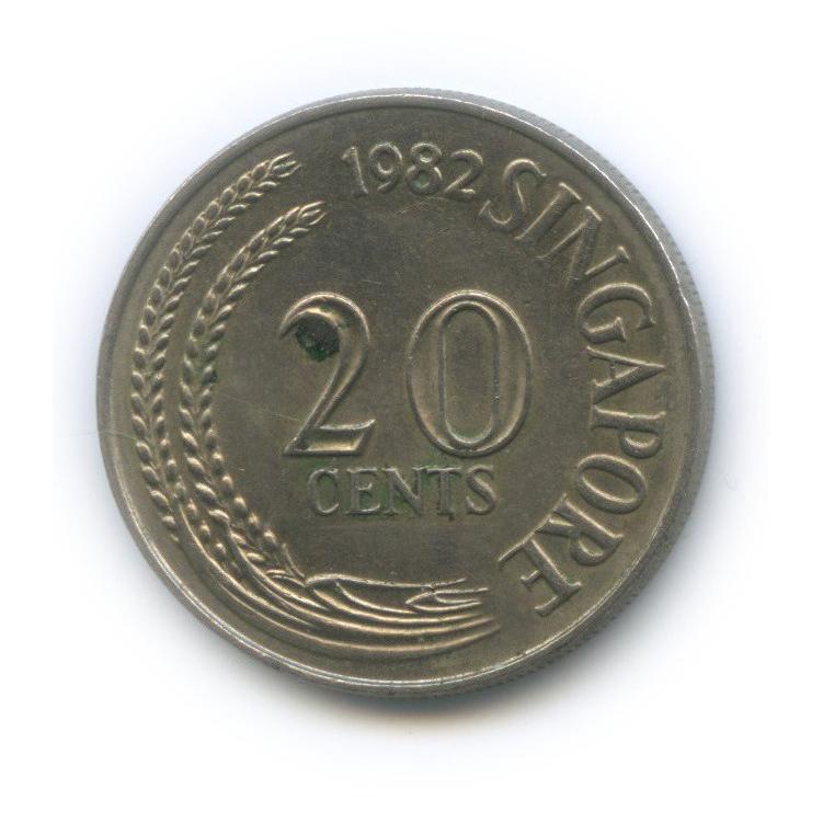 20 центов 1982 года (Сингапур)