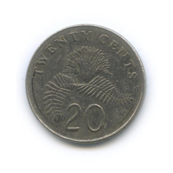 20 центов 1987 года (Сингапур)