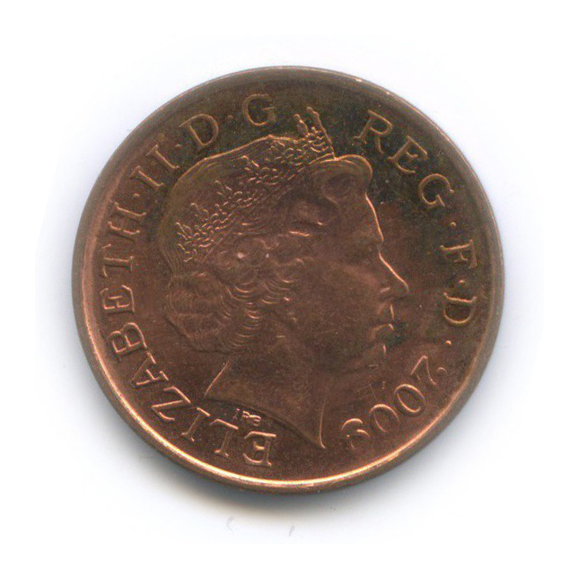 1 пенни 2009 года (Великобритания)