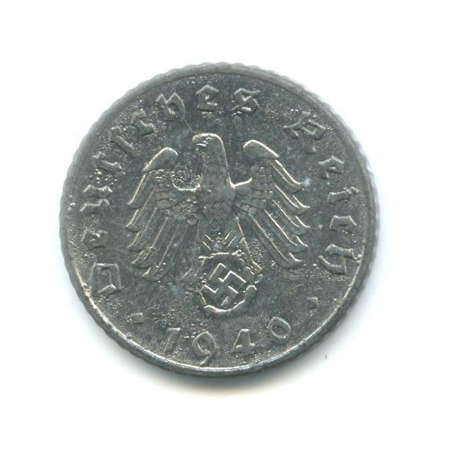 5 рейхспфеннигов 1940 года E (Германия (Третий рейх))