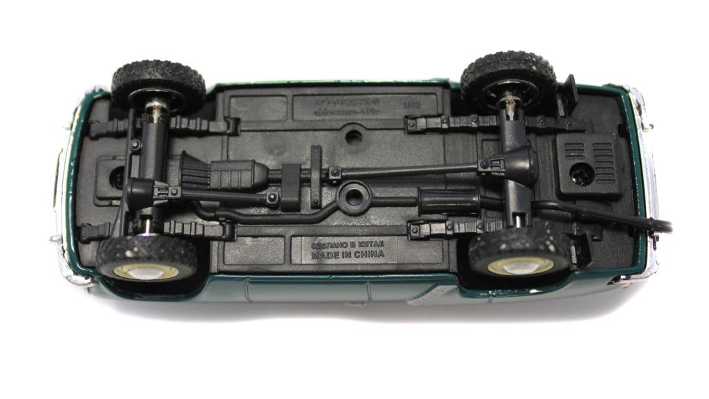 Модель машины «Москвич-410» (10 см)