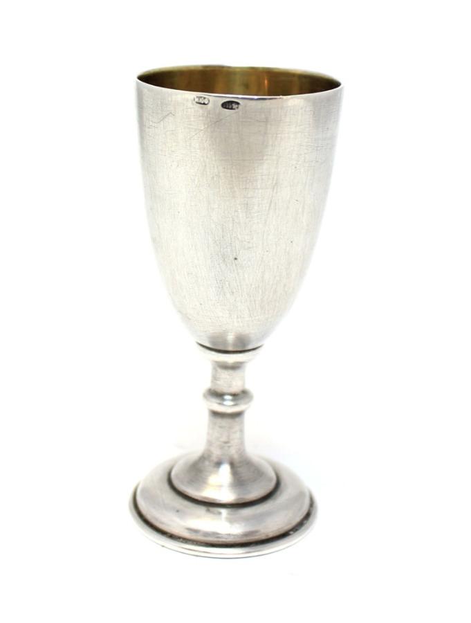 Рюмка (серебро 875 пробы, клеймо сголовой) (СССР)