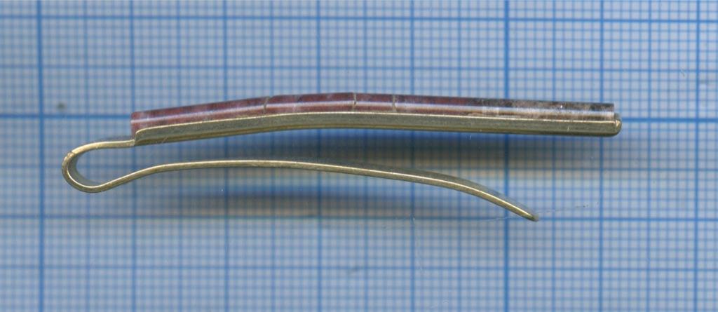 Зажим для галстука (серебро 875 пробы) (СССР)