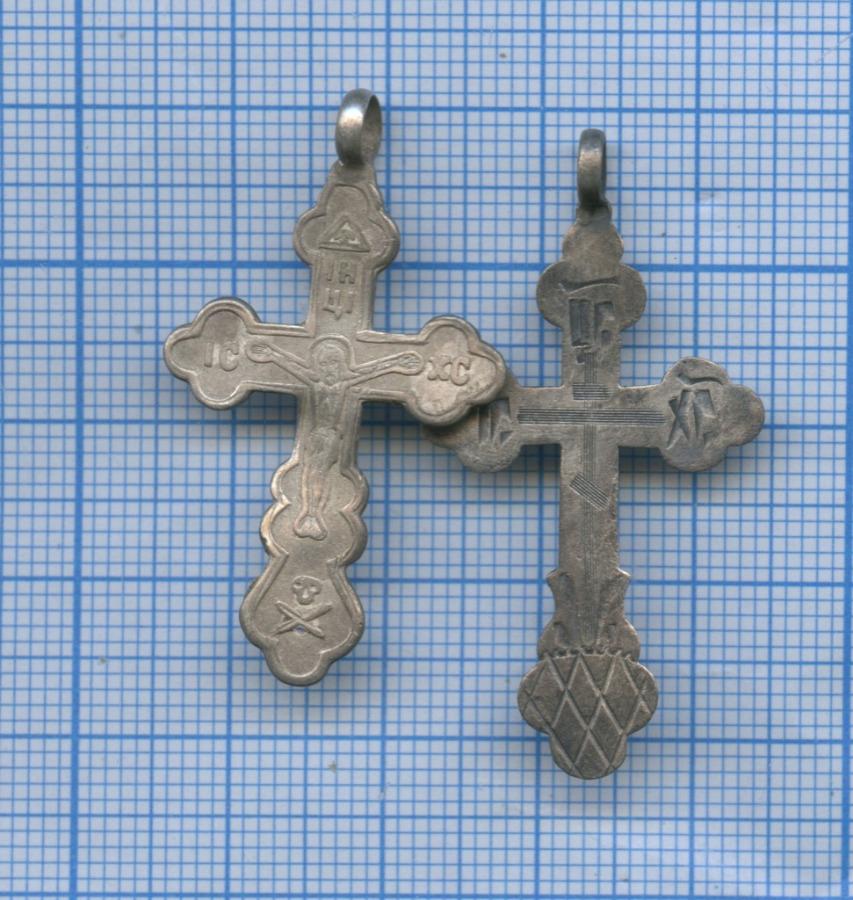 Набор нательных крестиков (84 проба серебра)