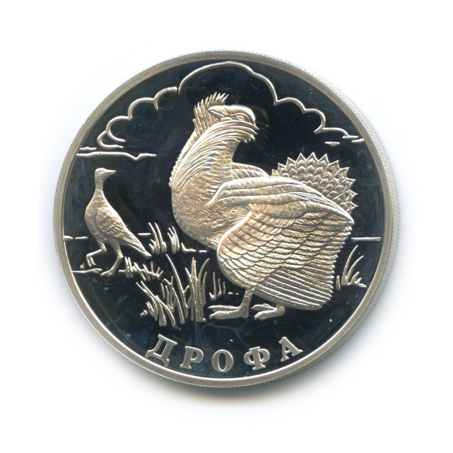 1 рубль — Красная книга - Дрофа 2004 года (Россия)
