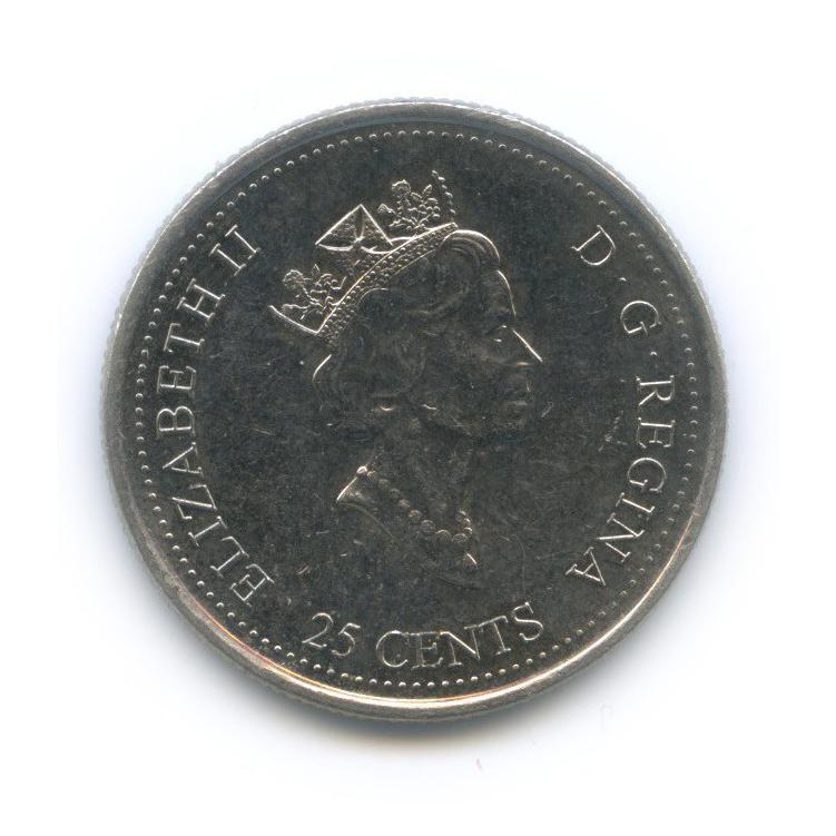 25 центов (квотер) — Миллениум - Май 1999, Путешественники 1999 года (Канада)