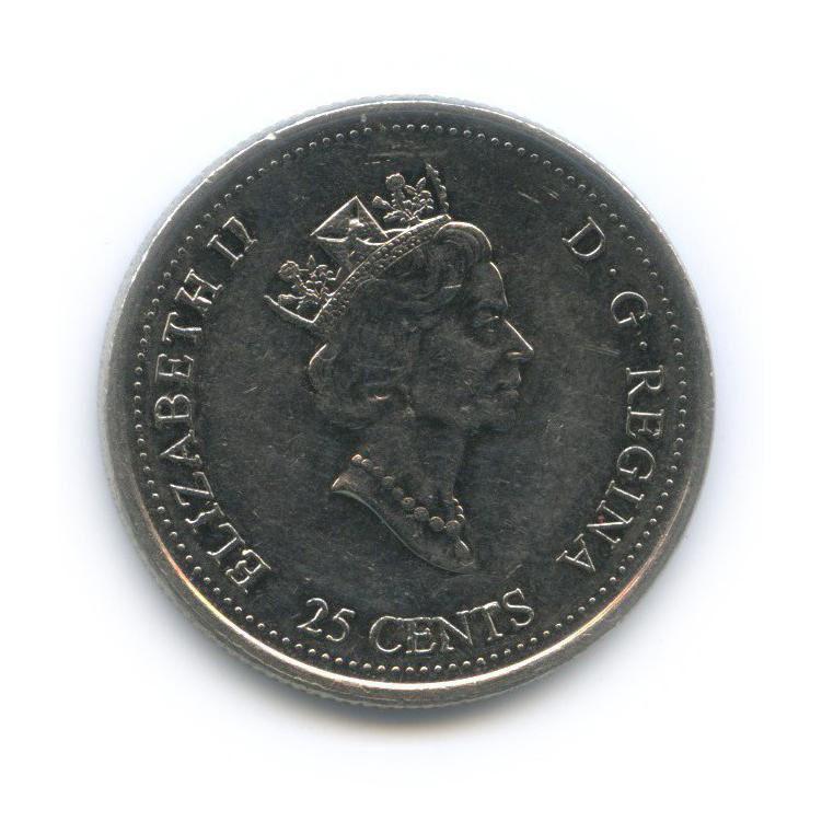 25 центов (квотер) — Миллениум - Август 1999, Дух первооткрывателей 1999 года (Канада)