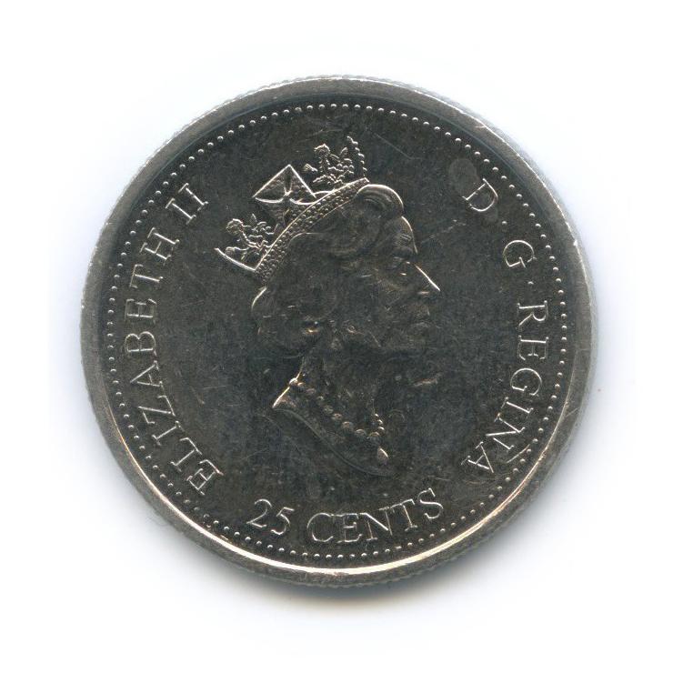 25 центов (квотер) — Миллениум - Здоровье 2000 года (Канада)