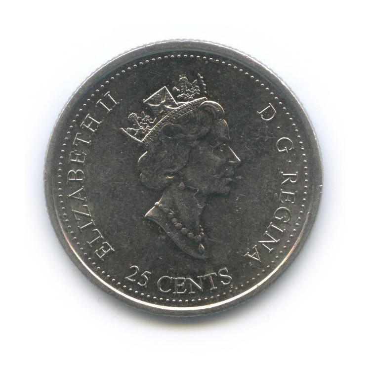 25 центов (квотер) — Миллениум - Сообщество 2000 года (Канада)