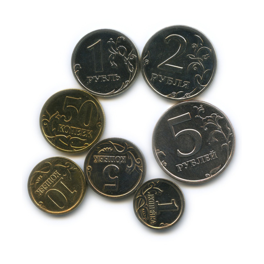 Набор монет России 2002 года СПМД (Россия)