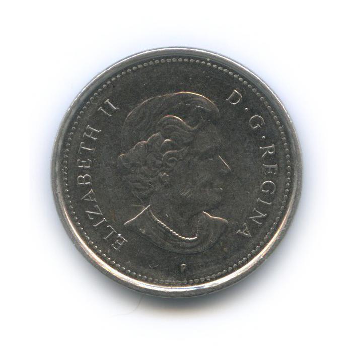 5 центов 2006 года P (Канада)