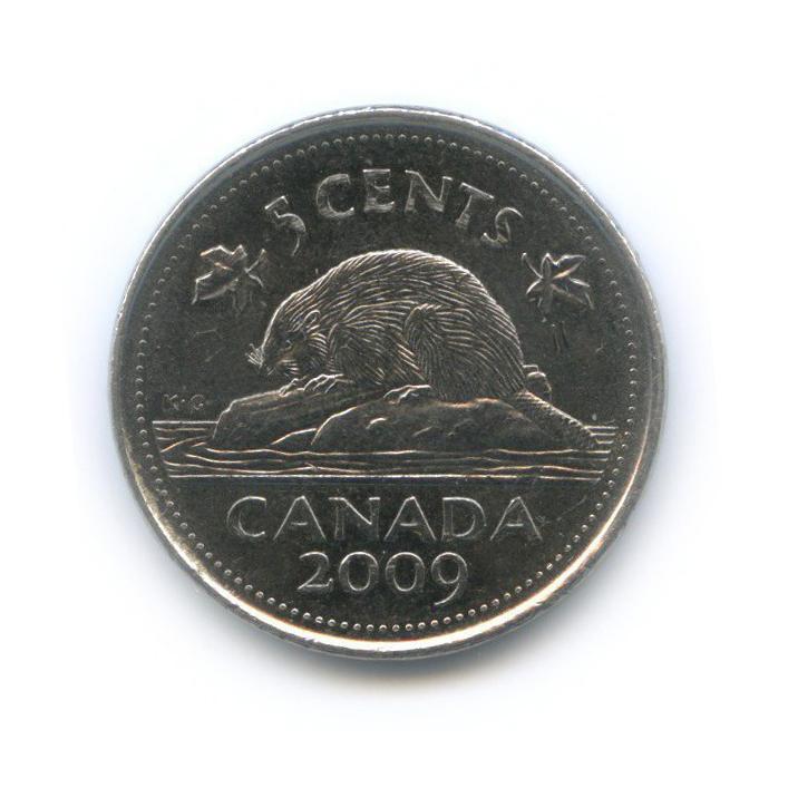 5 центов 2009 года (Канада)