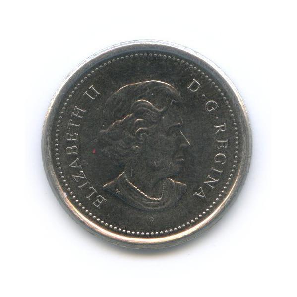 10 центов 2005 года (Канада)
