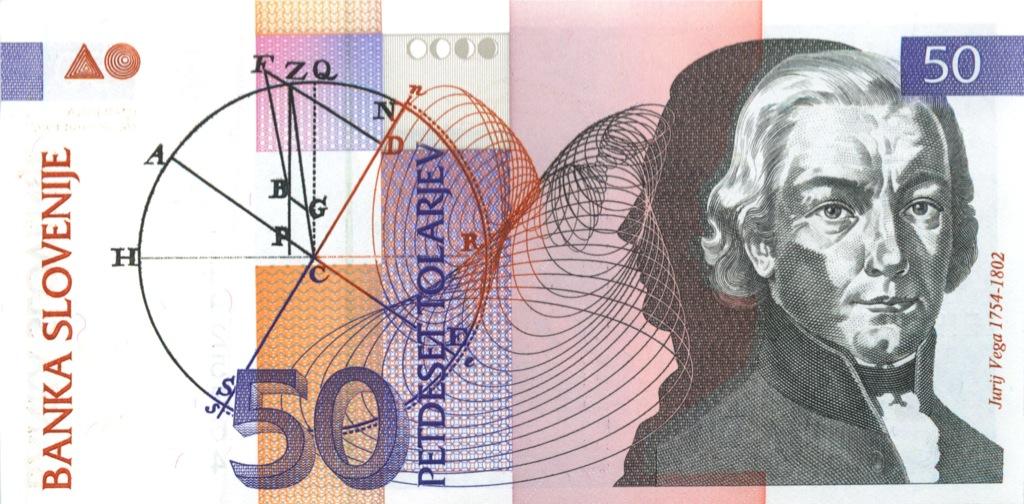 50 толаров 1992 года (Словения)