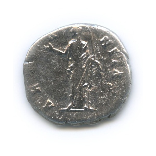 Денарий - Фаустина Старшая, Рим