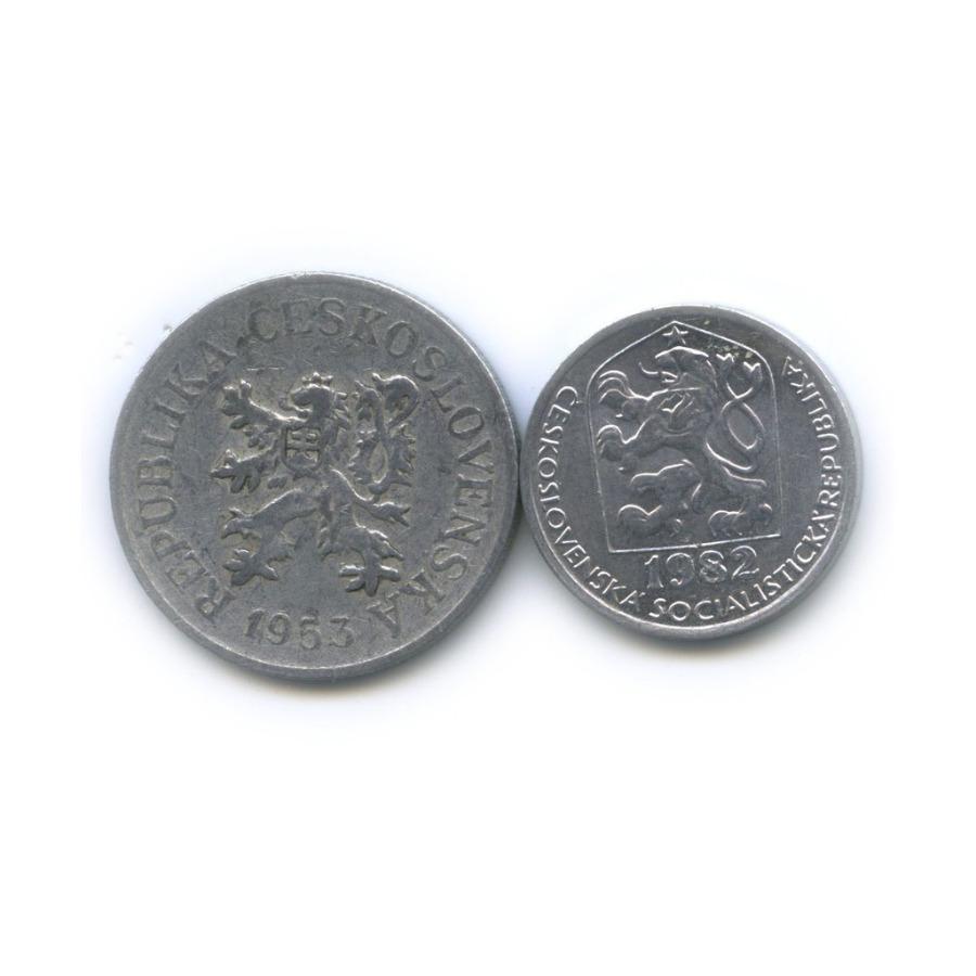 Набор монет 1953, 1982 (Чехословакия)