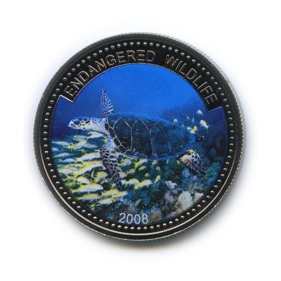 1 доллар - Под угрозой исчезновения, Палау (вцвете) 2008 года