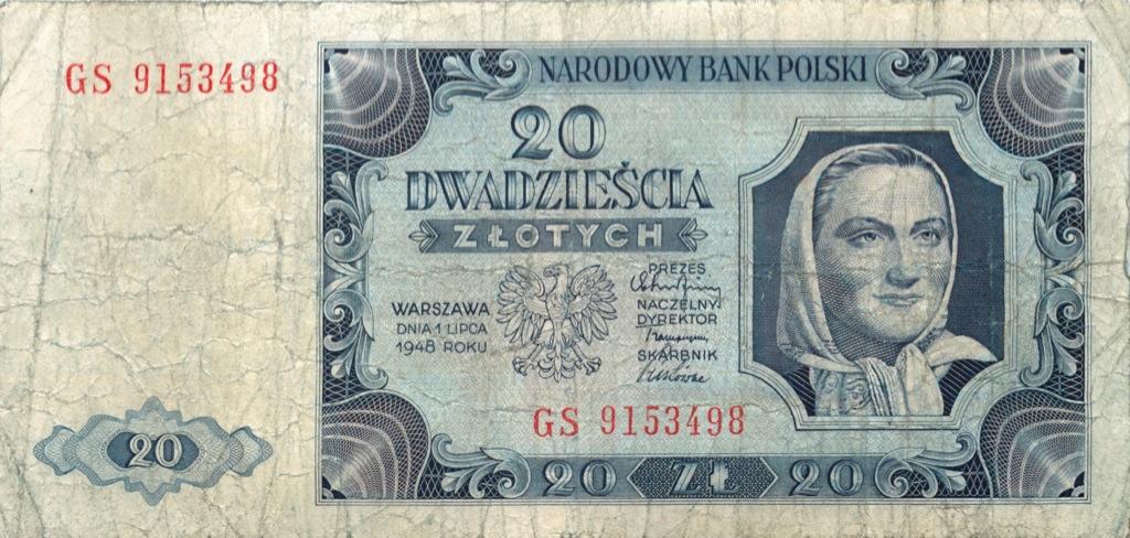 20 злотых 1948 года (Польша)
