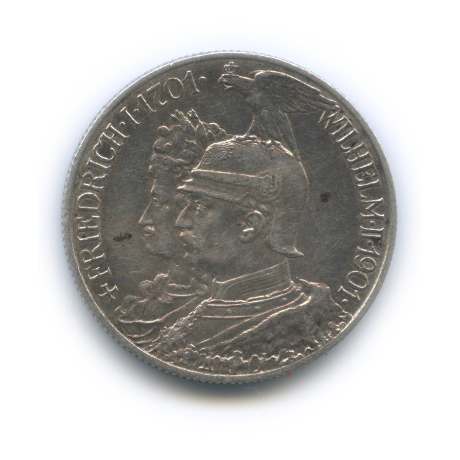 2 марки - 200 лет прусскому королевству, Пруссия 1901 года