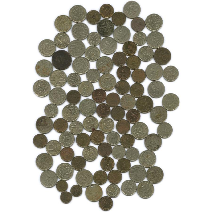 Набор монет СССР (95 шт.) 1961-1991 (СССР)