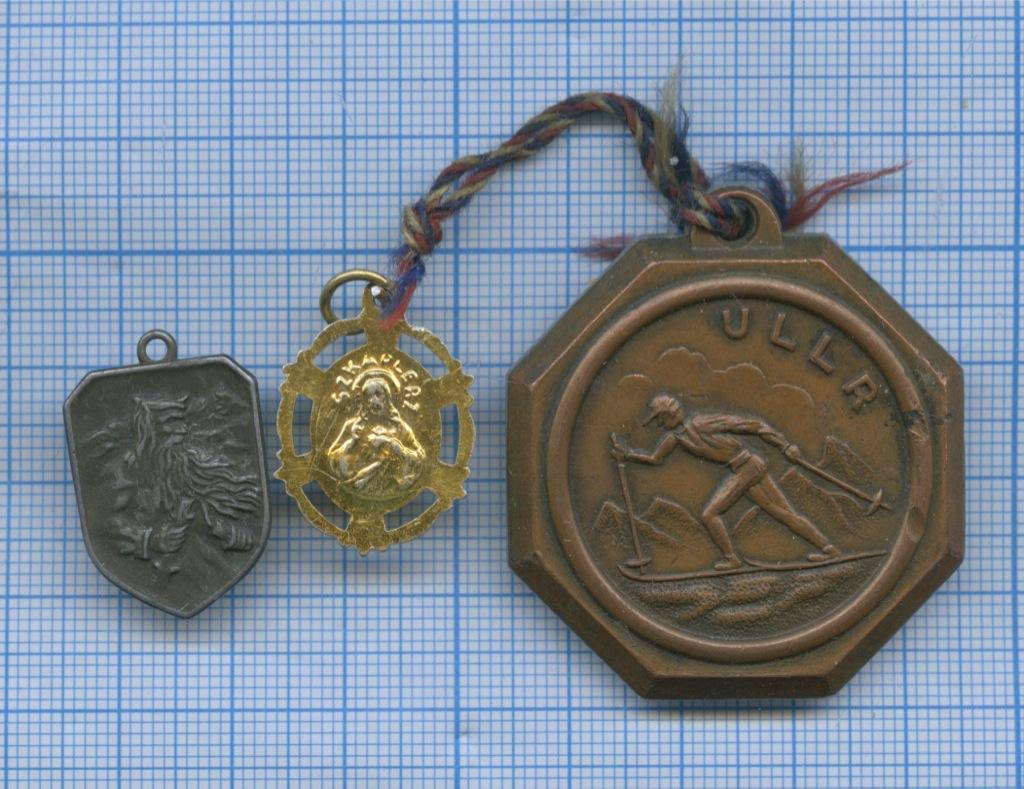 Набор медалей, образок